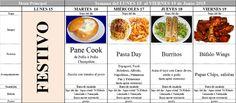 Menú Principal Comedor Escolar del 15 al 19 de Junio de 2015