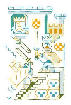 vincent caut Kids Art Class, Art For Kids, Line Pic, Graph Paper, Flat Illustration, Kids Rugs, Blog, Maths, Drawings