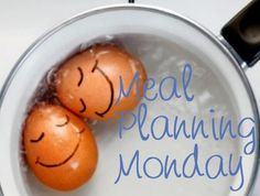 Great weekly meal plan