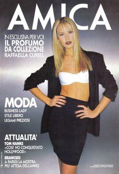 AMICA Nº 18 - 6 Maggio 1995 - Valeria Mazza