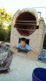 MakerMonkey: The Pizza Oven Oven Design, Pizza Oven Outdoor, Rocket Stoves, Bathroom Interior Design, Pizza Ovens, Barrel, Brick, Outdoor Decor, Diy