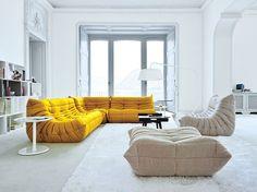 Bodenkissen sofa  Orientalische Wohnideen-verschönern Sie Ihr Wohnzimmer mit ...
