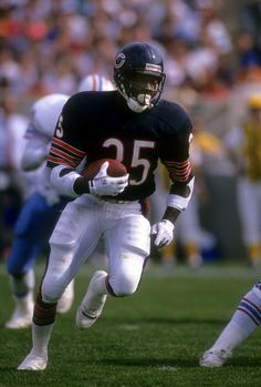 Running Back Neal Anderson of the Chicago Bears 1989