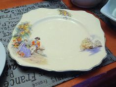 Vintage c.late 1940s J&G MEAKIN Sunshine by BuyfromGroovy on Etsy