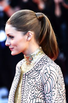Olivia Palermo, 2013 #pony #hairstyle #hair