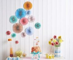 Learn How To Make The Pretty Paper Fans In Issue Nine Of Homemaker