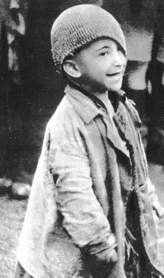 Warsaw Ghetto Child/very young child in 1941