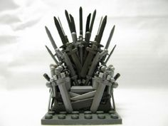 Game of Thrones - The Iron Throne: A LEGO® creation by Bart the Constructor : MOCpages.com