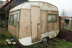 Small Vintage Classic Retro Caravan - Restoration Project