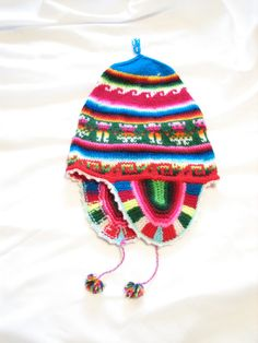 colorful peruvian hat by JonnyandMags on Etsy 82e981cfa7c