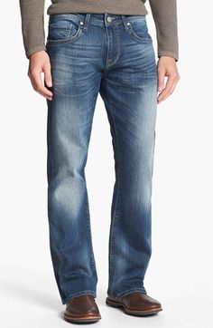 Mavi Jeans 'Josh' Bootcut Jeans (Deep Vintage) available at #Nordstrom