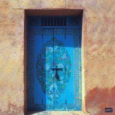 Moroccan bluedoors