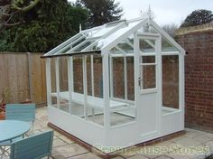 Swallow Kingfisher 6ft x 8ft Wooden Greenhouse - traditional - Greenhouses - Other Metro - Greenhouse Stores