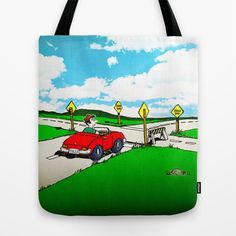 You Can't Get There from Here . . . Tote Bag by Peter Gross - $22.00