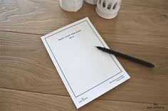 MAKE YOUR OWN WISH: CARTOLINA DA SCARICARE  Potete disegnarla o scriverci i vostri auguri, i vostri sogni, oppure lasciarla così com'è. Per i vostri desideri avete carta bianca: Buon Natale!