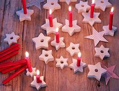 Weihnachtliche Sterne -  Weihnachtsdeko selber machen 2