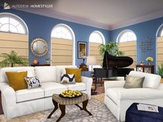 Check out my interiordesign coral bedroom from for Home style com
