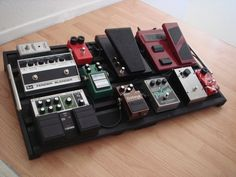 How I built my pedalboard - IKEA Hack - Jemsite