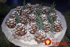 Christmas confection in the shape of cones! You will be surprised by everyone! Diy Christmas Gifts For Friends, Christmas Sweets, Holiday Desserts, Christmas Baking, Creative Desserts, Creative Food, Galletas Cookies, Christmas Cookies, Easy Cookie Recipes