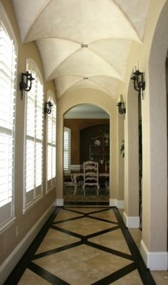 1000 images about barrel ceiling on pinterest hallways for Barrel ceiling ideas