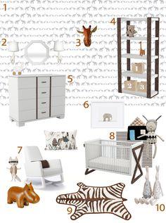 My Modern Nursery: Get the Look: Daniel's Room by SISSY + MARLEY « buymodernbaby.com