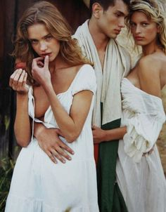 Natalia and Karolina for Pirelli Calendar 2003 by Bruce Weber Pixie market