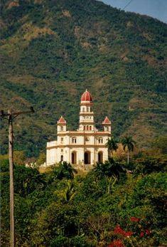 """El Sanctuario de Nuestra Señora de la Caridad del Cobre in Maboa, Cuba. """":O)"""