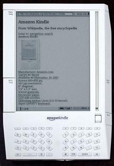 First Amazon Kindle 2007