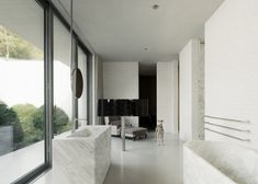 Fayland House by David Chipperfield in Chiltern Hills, United Kingdom, Photo by Simon Menges | Remodelista
