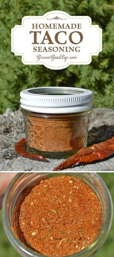 make taco seasoning Replace store bought envelopes with this homemade taco seasoning mix and eliminate the mystery ingredients, anti-caking agents, and preservatives. Homemade Taco Seasoning Mix, Homemade Tacos, Seasoning Mixes, Seasoning Recipe, Homemade Spices, Homemade Seasonings, Homemade Food, Mexican Food Recipes, Real Food Recipes