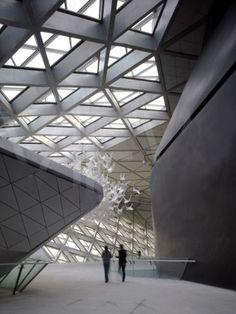 Opera House Zaha Hadid Guangzhou 2010 China