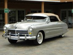 1949 Hudson Convertible...awesome, i'd buy it now!  looks like something Klaatu would drive, lol.
