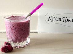 Milkshake léger aux fruits rouges Marmiton http://www.marmiton.org/recettes/recette_milk-shake-leger-aux-fruits-rouges_36408.aspx