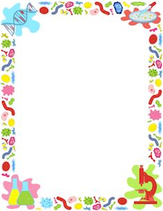 Free biology border templates including printable border paper and clip art versions. File formats include GIF, JPG, PDF, and PNG. Biology Projects, Biology Art, Page Borders Free, Page Borders Design, Borders For Paper, Borders And Frames, Science Lab Decorations, Page Boarders, Printable Border
