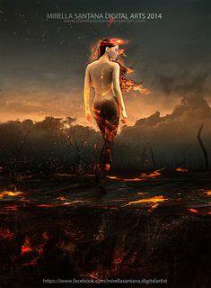 [Soul on fire by MirellaSantana]