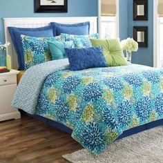 Fiesta® Ava Reversible Quilt Set - BedBathandBeyond.com