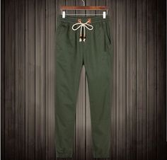 European Cuffed Joggers Pants