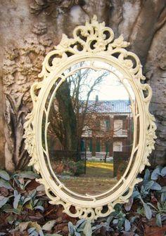 Love vintage mirrors & frames.....