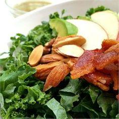 Kale, Apple, Avocado, and Bacon Salad - Allrecipes.com
