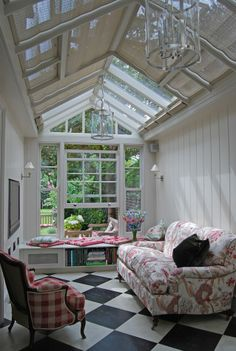 Conservatory example designed and built by Town & Country.