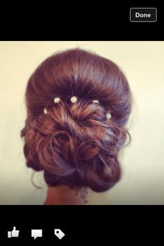 Ball hairstyle
