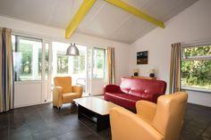 Bungalow 18 - Woonkamer / Serre - Klein Vaarwater Ameland #Ameland #vakantie #ontspannen #bungalow
