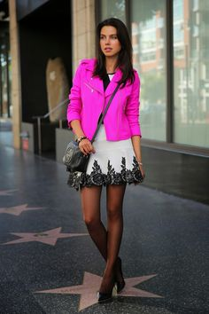 VIVALUXURY - FASHION BLOG BY ANNABELLE FLEUR: PINKS, PATTERNS & POLKA DOTS