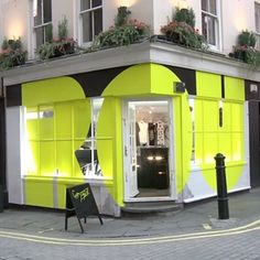 Pop Up Shop Design / Retail Design / Semi Permanent Retail Fixtures / VM / Retail Display / A fashion pop-up shop. Bg Design, Signage Design, Window Design, Shop Front Design, Retail Facade, Retail Signage, Shop Facade, Retail Interior, Interior And Exterior