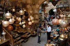Khan El Khalili Grand Bazaar  Book your vacation to #Egypt with Blue Sky Travel... Egypt Holidays  Egyptian Travel agency www.blueskygroup.net