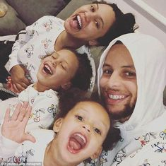 She announced in February that she and her NBA player husband Stephen Curry are expecting their third child. And on Wednesday, Ayesha Curry revealed that she gave birth a boy. Stephen Curry And Daughter, Stephen Curry Family, The Curry Family, All In The Family, Stephen Curry Wife, Stephen Curry Ayesha Curry, Ayesha And Steph Curry, Stefan Curry, Ryan Curry