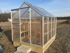 Harbor Freight Greenhouse 6 X 8 Greenhouse