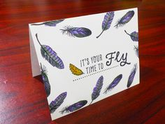 Greeting Card | Your Time to Fly