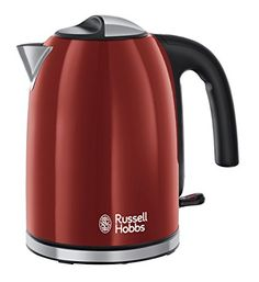 Russell Hobbs Colour Plus Kettle 20412, 3000 W, 1.7 L - Red