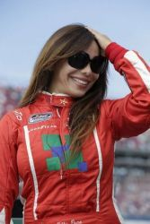 Duno becomes first Hispanic female driver to lead a NASCAR national series race    Los Angeles, Calif. (October 20, 2014) –  Milka Duno competed in her first NASCAR Camping World Truck Series (NCWTS